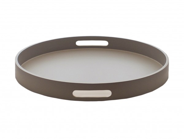 MOJOO MATT Tray - Tablett rund in 3 Farben 40cm
