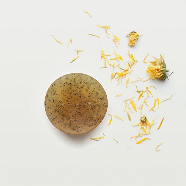 MUNIO SKINCARE Natürliche Peelingseife - Ringelblume