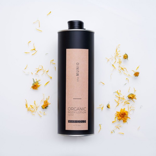 MUNIO SKINCARE Natürliche Body Lotion - Refill Ringelblume / Marigold