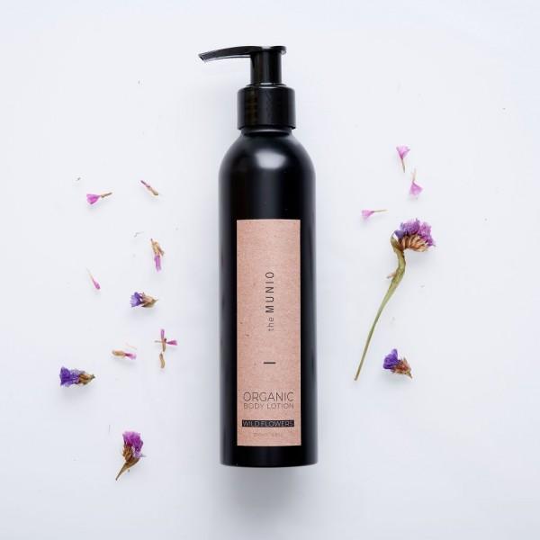 MUNIO SKINCARE Natürliche Body Lotion - Wildblumen / Wildflowers