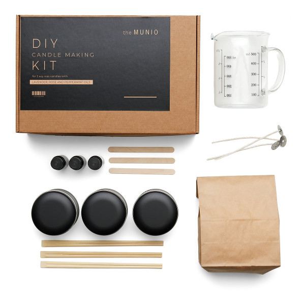 MUNIO CANDELA DIY candle making kit - Kerzenstudio