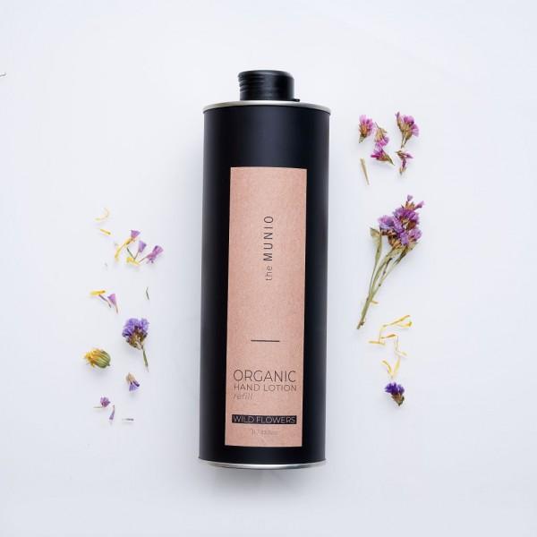 MUNIO SKINCARE Natürliche Handcreme - Refill Wildblumen / Wild Flowers