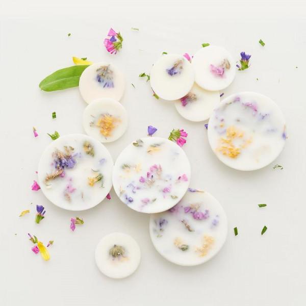 MUNIO NATURELLA Sojawachs Duftblättchen - Wildblumen