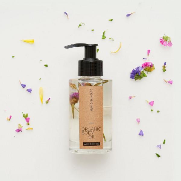MUNIO SKINCARE Natürliches Körperöl- Wildblume