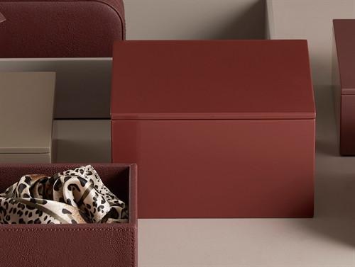 MOJOO LUX Lackbox mit Deckel Hoch in vielen Farben