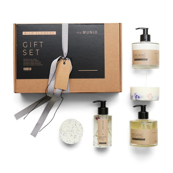 THE MUNIO WILD FLOWERS GIFT SET / GESCHENKBOX WILDBLUMEN