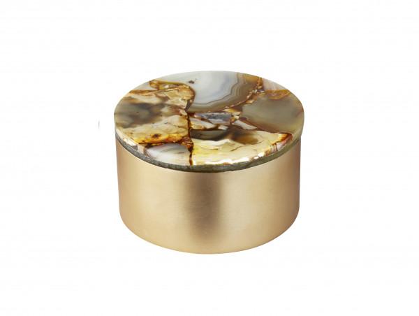 MOJOO AGAT Box Gold in 2 Größen